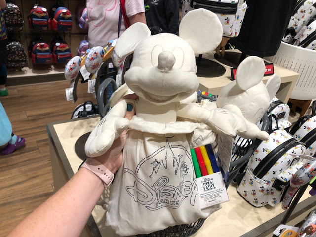 Ink & Paint Color your Own Mickey Mouse Push & Backpack