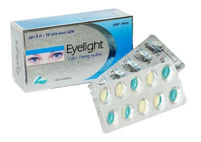 Thuốc bổ mắt Eyelight viên nang mềm