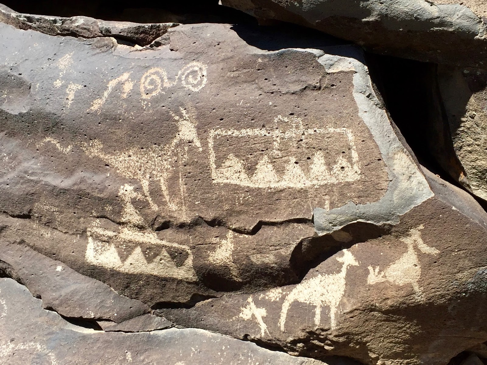 Looking for signs and symbols schoolartsroom art education the exact meanings of these petroglyphs are not known and we may not be entitled to that knowledge but there are many recognizable images such as hands biocorpaavc