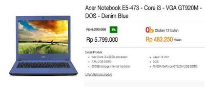 Saatnya Belanja Laptop Acer Di MatahariMall SAATNYA BELANJA LAPTOP ACER DI MATAHARIMALL.COM