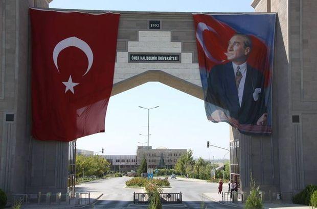 Niğde Ömer Halisdemir Üniversitesi, Veteriner, Mühendis, Teknisyen, Tekniker 5 kişi sözleşmeli alım ilanı