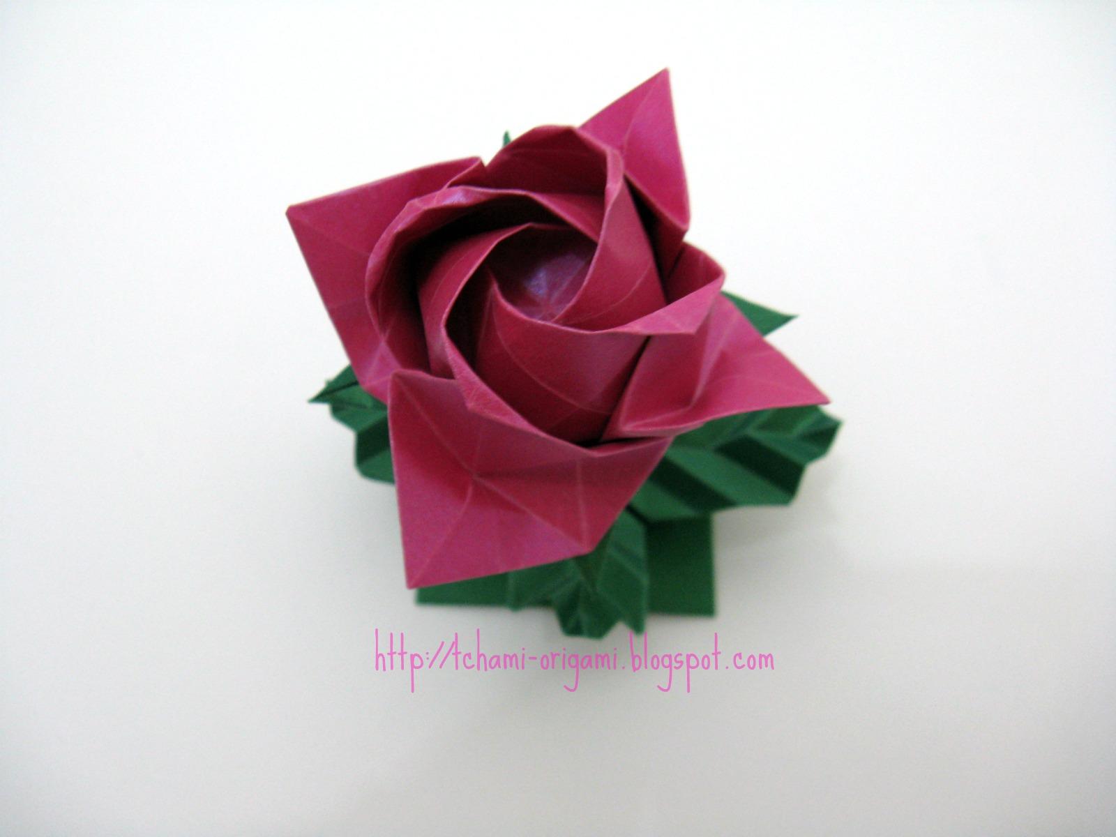 Origami by Tchami: Kawasaki Rose - photo#22