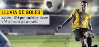 bwin 10 euros extra por cada gol Cádiz vs Valladolid 13 enero
