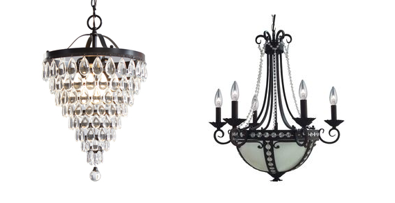 Lowe S 75 Off Chandelier Clearance Portfolio 8 Light Oil Rubbed Bronze 47 25 Reg 189 Style Selections 3 Antique Crystal