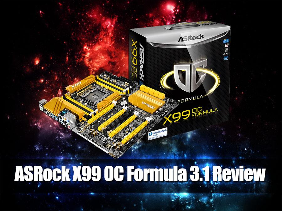 Unboxing & Review: ASRock X99 OC Formula 3 1