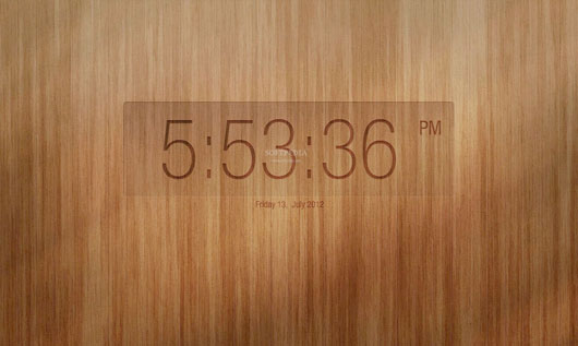 Simple Wood Clock