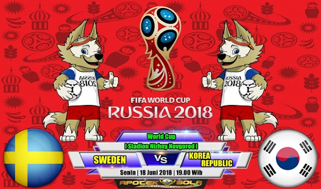 Prediksi Sweden vs South Korea 18 Juni 2018