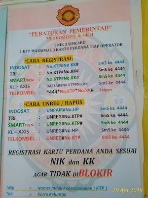CARA UNREG Kartu Perdana Telkomsel indosat XL