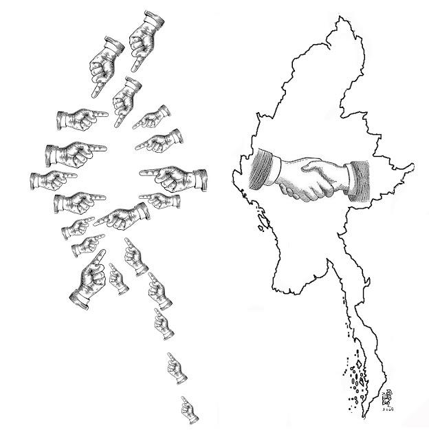 ပန္းခ်ီ သန္းေဌးေမာင္ – အေတြးတစ