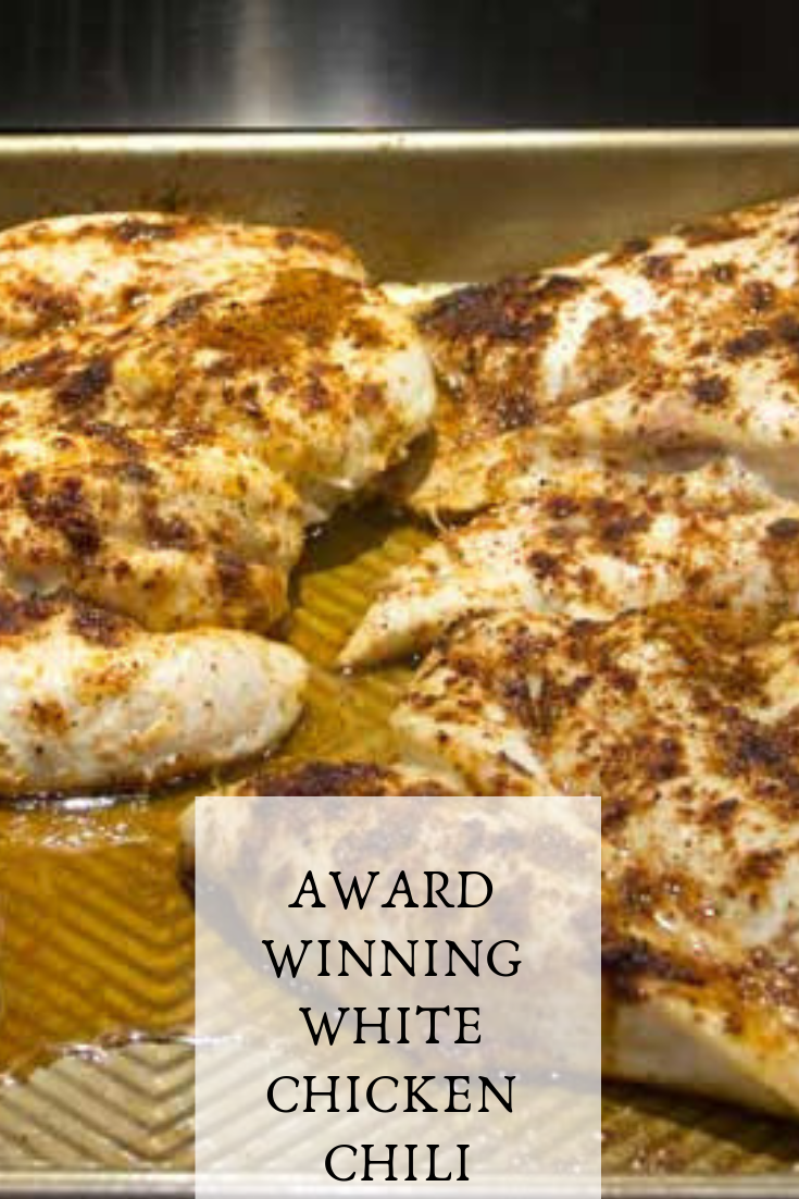 #AWARD #WINNING #WHITE #CHICKEN #CHILI