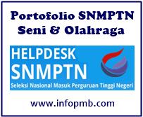 Kali ini admin akan membuatkan informasi ihwal  Portofolio Seni dan Olahraga SNMPTN 2019/2020