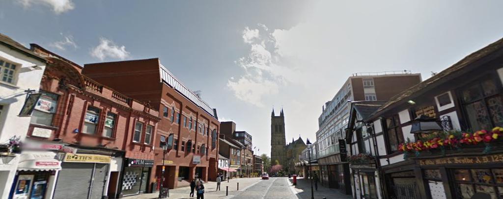 Lost Pubs Of Bolton Derby Arms Cross Keys Churchgate border=