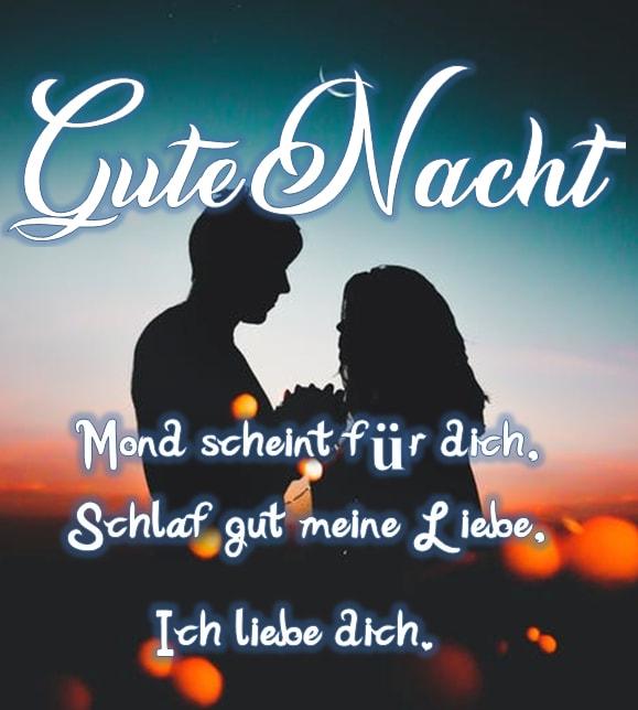 Gute Nacht Schatz Romantisch Gute Nacht Meine Liebe Romantische