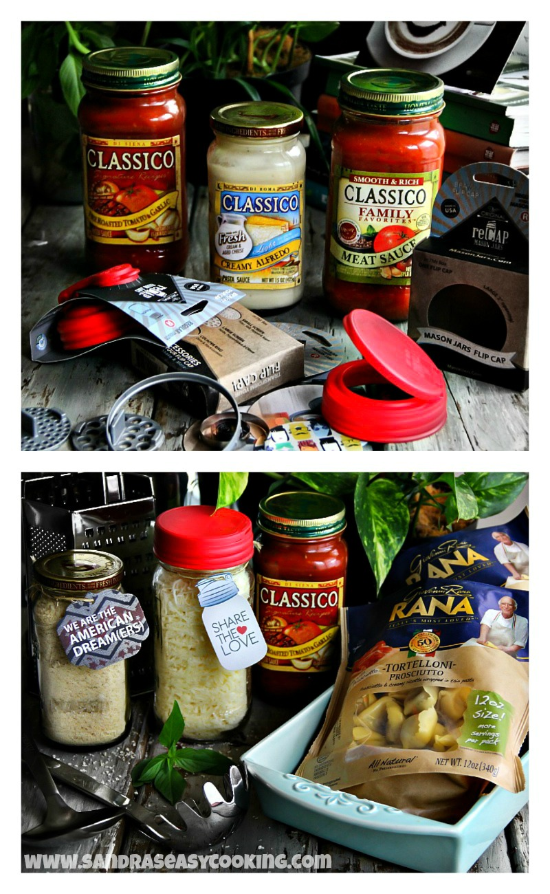 Baked Tortellini - CLASSICO® and reCAP #makeityourown