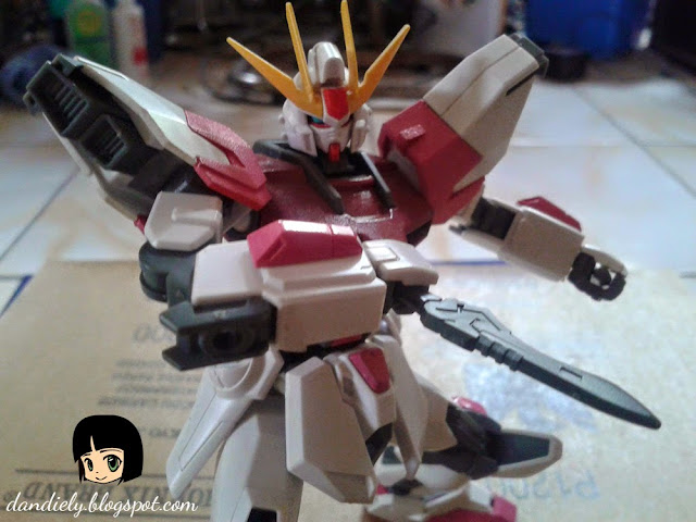 WIP Gundam Star Build Rouge