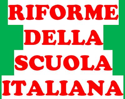 RIFORME DELLA SCUOLA ITALIANA -  Legge Casati