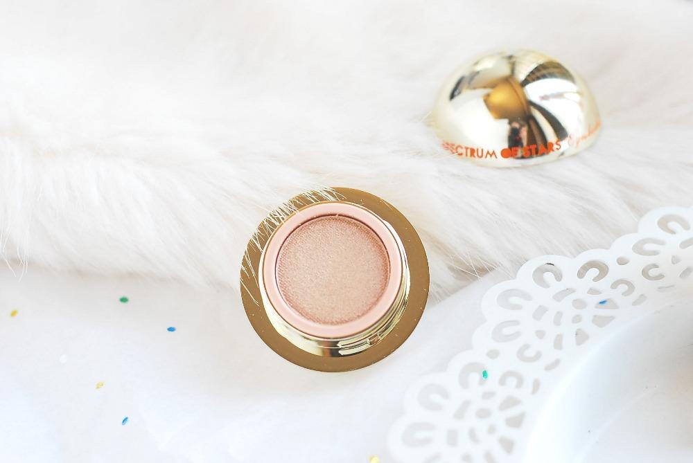 Teeez Cosmetics Spectrum of Stars Eyeshadow Vanilla Sunbeam review