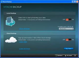 Hitachi Backup Software