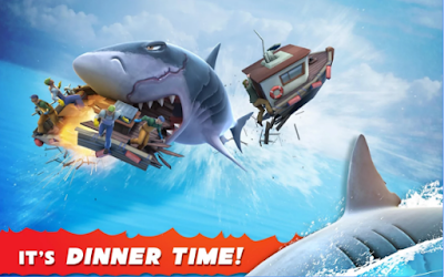 Download Hungry Shark Evolution Mod Apk v4.5.0 Unlimited Coin
