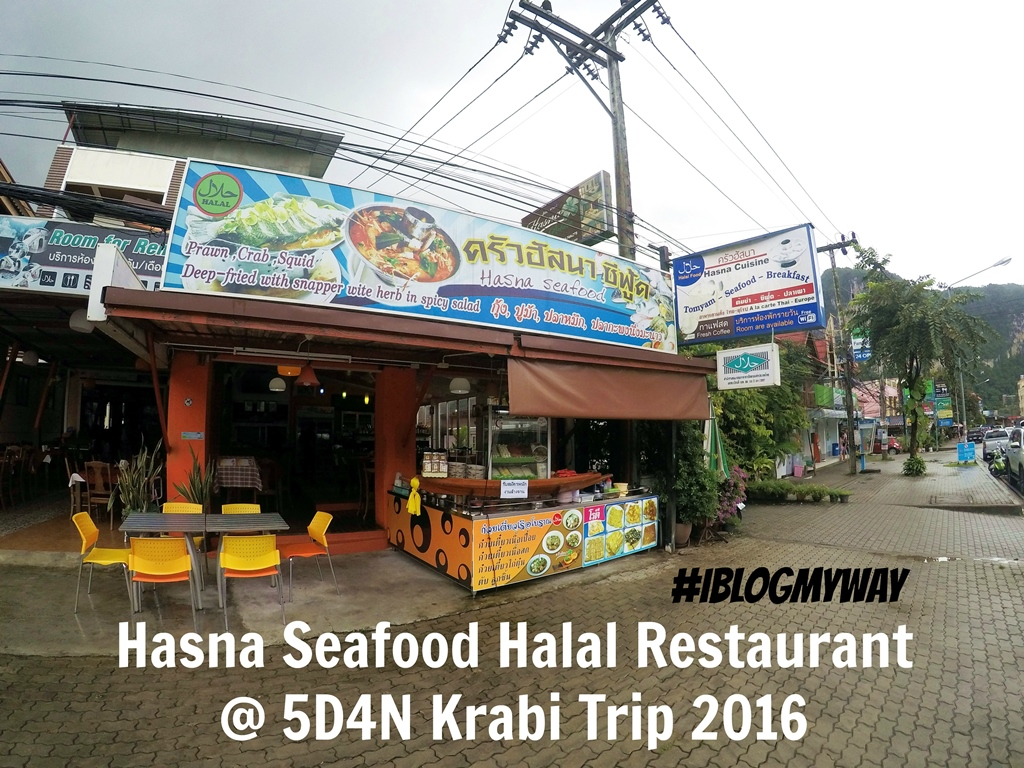 hasna seafood halal restaurant 5d4n krabi trip 2016 i blog my way. Black Bedroom Furniture Sets. Home Design Ideas