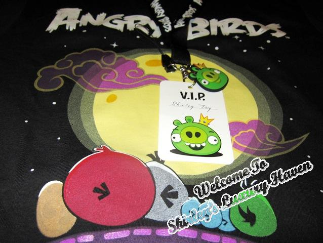 angry birds limited edition glow in the dark tee