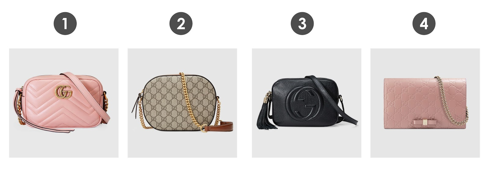 872d748114b4 I ve also fallen back in love with the classic Gucci GG monogram print. Plus  the Soho Disco bag has become a classic that any serious or casual bag lover  ...