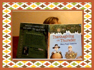 Magic Tree House is one of my favorite series. Thanksgiving on Thursday doesn't disappoint. These books allow students to enjoy the book and learn about places and words.