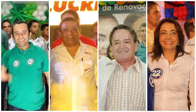 Em Escada cinco candidatos disputam à prefeitura