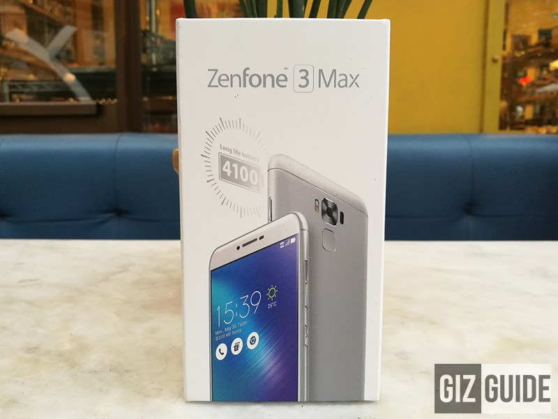 Report: Asus ZenFone 3 Max ZC553KL With 3 GB RAM Is Now On Pre Order For PHP 10995!