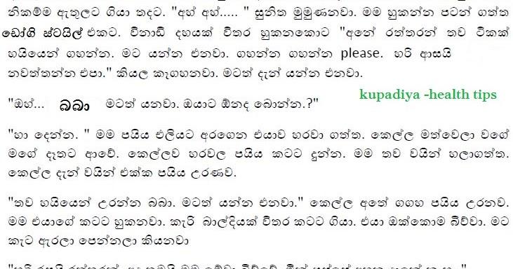 Sinhala Wela 2016: Sinhala Wela Kupadiya-සිංහල වල් වීඩියෝ-වල් කතා-Wanacharaya