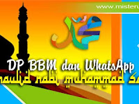 DP BBM dan WhatsApp Maulid Nabi Muhammad SAW