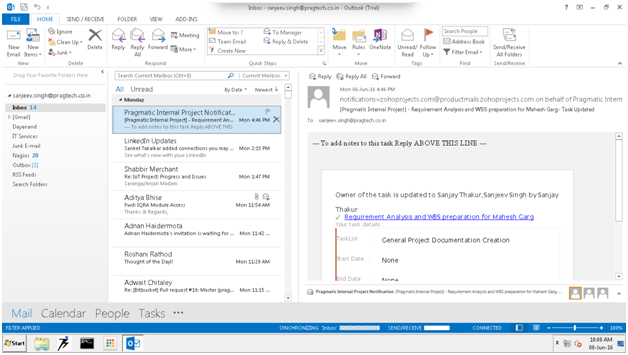 Pragmatic Blog : Microsoft OUTLOOK AND ODOO INTEGRATION
