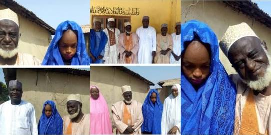 Rich 70yrs Old Alhaji Marries 15-Year-Old Nigerian Girl (Photos)