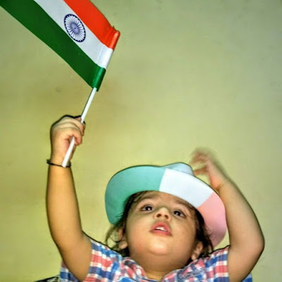 A letter to my Son on this Independence Day- Vibhu & Me