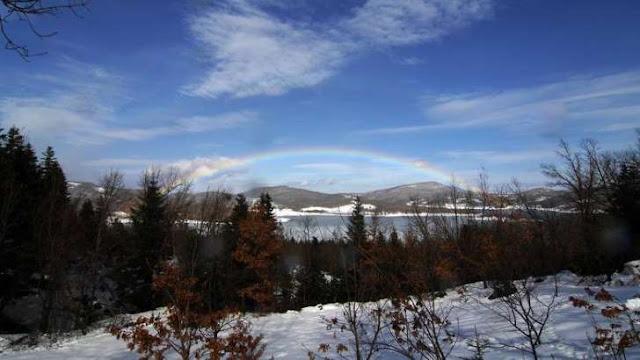 Χιόνισε στο Καϊμακτσαλάν και στον Όλυμπο (pic)