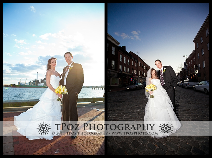 Fells Point Bride Groom Wedding