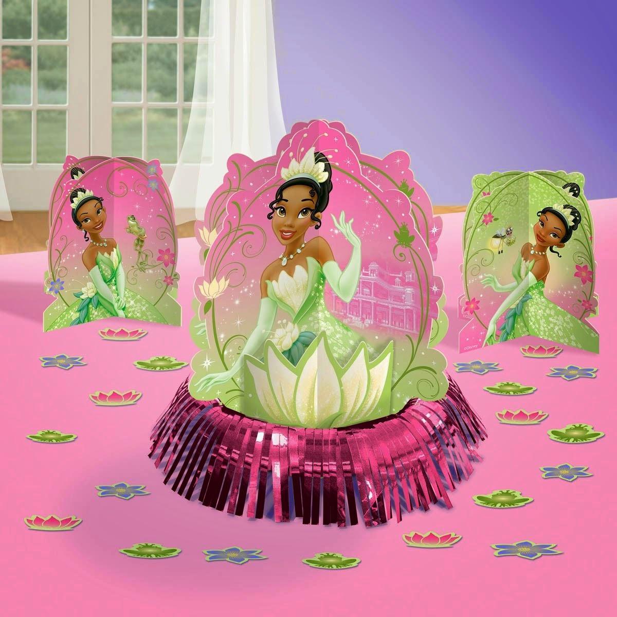 beautiful Princess And The Frog Decoration Ideas Part - 14: Princess and the Frog Sparkle Table Decorating Kit
