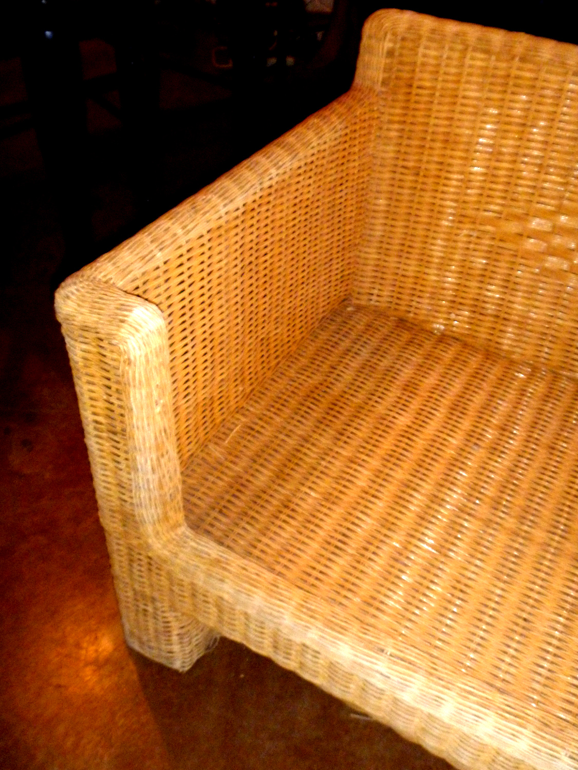 Wicker  Piece Dining Room Table