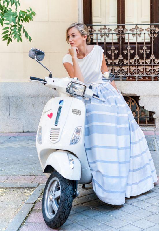 Bellos vestidos de novias | Colección Carmen Halffter