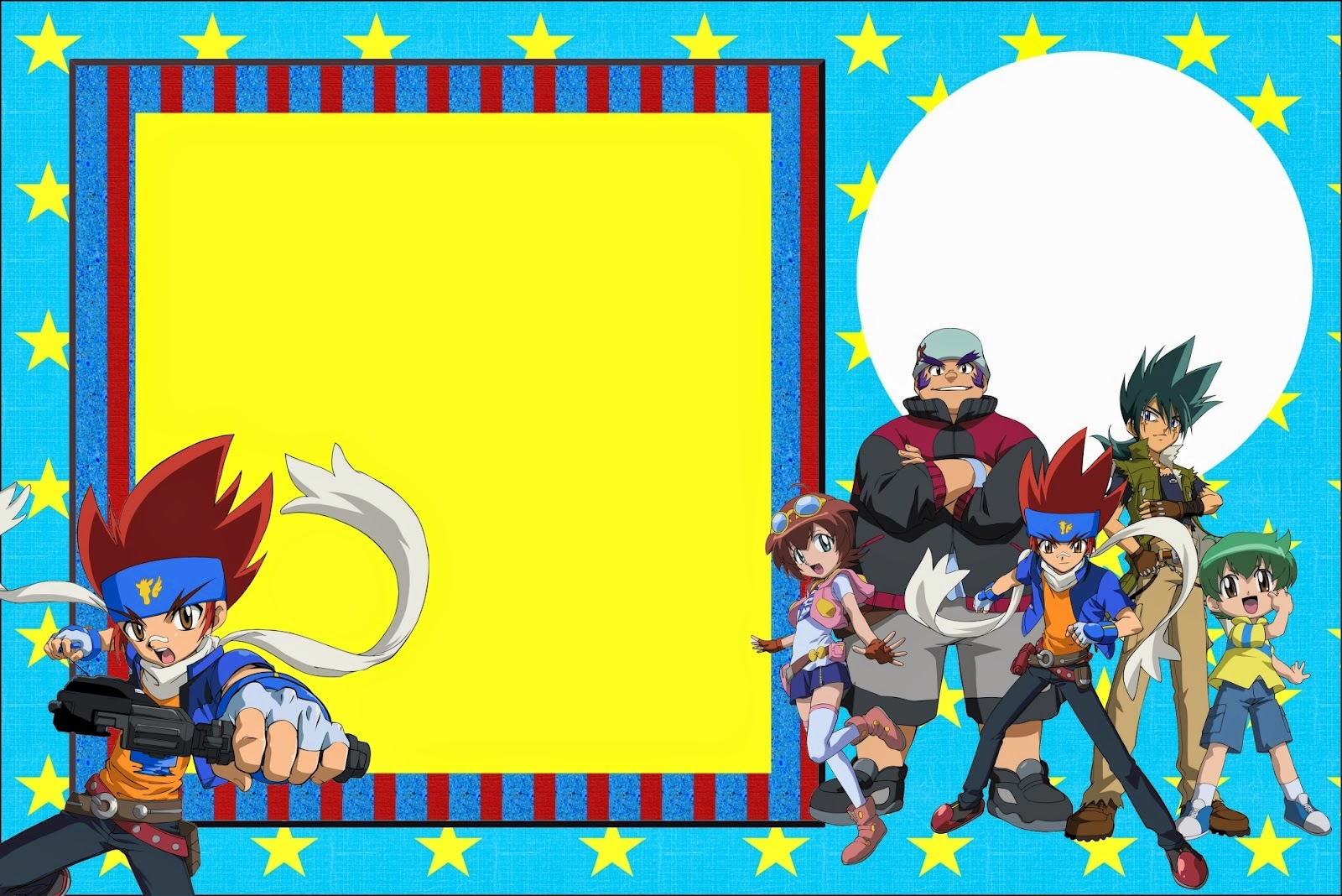 Beyblade Free Printable Invitations Oh My Fiesta for Geeks