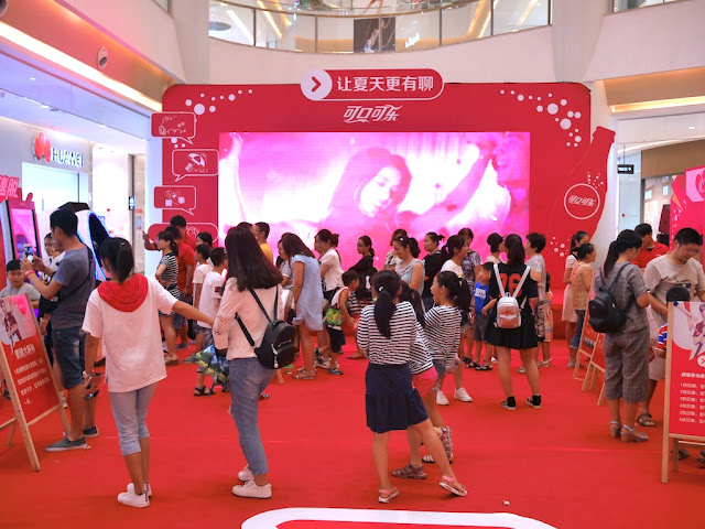 Coca-Cola promotion in Bengbu, China
