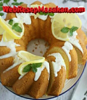 Lemon Butter Cake, Resep lemon butter cake,