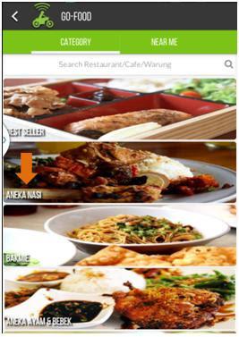 gojek, ojek online, gofood, go-food, food delivery, pesan makanan, makan, food delivery