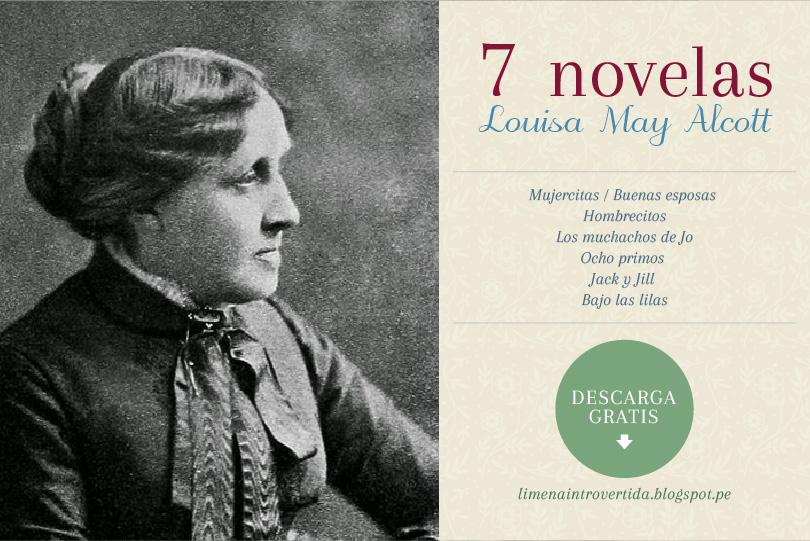 Descarga 7 novelas de Louisa May Alcott