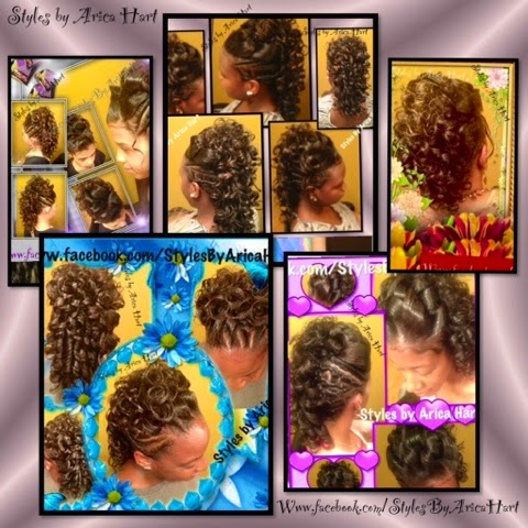 Mohawk hair styles with rods