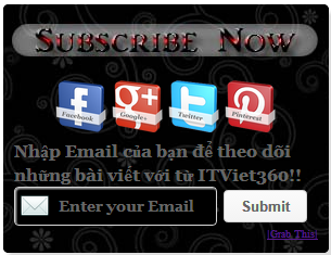 Widget Subscribe & Socials for Blogger Gadget