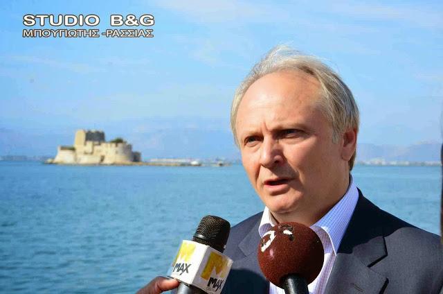 Παρέμβαση Ανδριανού για να ανακληθεί η απόφαση της ΔΕΗ να διακόψει την παροχή ηλεκτρικής ενέργειας προς τον ΓΟΕΒ Αργοναυπλίας