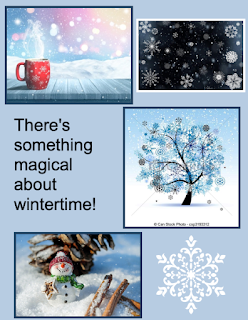 Handstamped Sentiments Challenge 331 - be inspired by winter