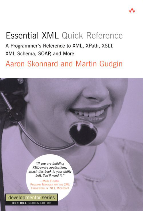 essential xml quick refrence : http://freecomputerbooksforyou.blogspot.com/