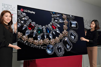 LG unveils world's first 88-inch 8K OLED display